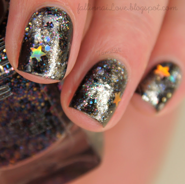 """P2 Lost In Glitter Polish """"End Up Glamorous!"""""""