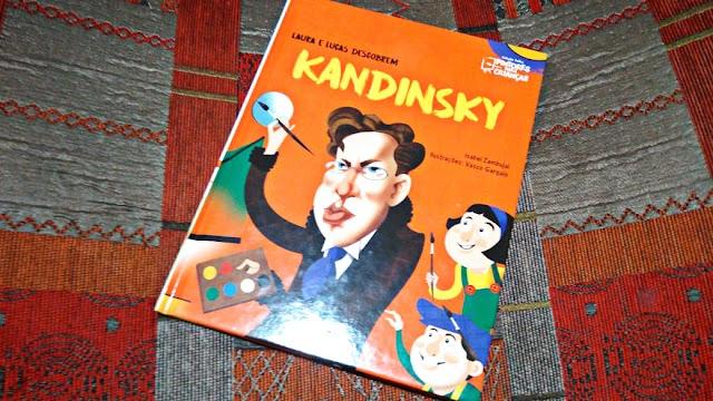 [RESENHA #635] COLEÇÃO FOLHA PINTORES PARA CRIANÇAS - VOL. 11: KANDINSKY