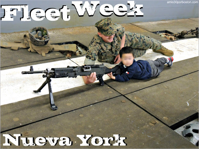 Memorial Day en Nueva York: Fleet Week