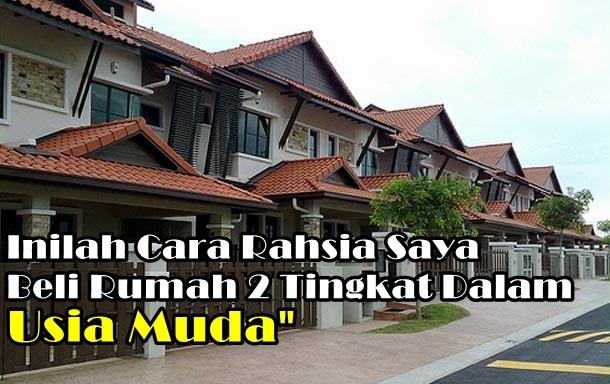 rumah besar, rumah dua tingkat,rumah hantu, gambar rumah, beli rumah, cara beli rumah murah