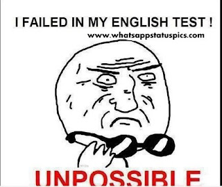 failed in my english test whatsapp dp and profile pic