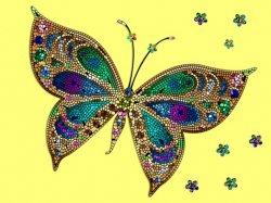 Mendesa Membuat Mozaik Dari Biji Bijian