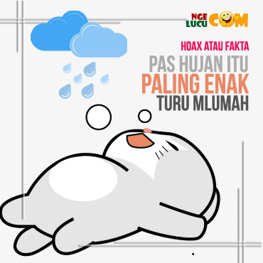 Gambar DP BBM Hujan Bahasa Jawa Koplak