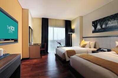 The 101 OJ Hotel Malang - Deluxe Room - Salika Travel - 4H3M Malang Batu Bromo stay at The 101 OJ Hotel Malang