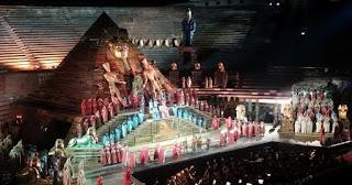 Arena de Verona, ópera Aida.