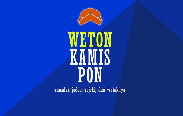 Weton Kamis Pon