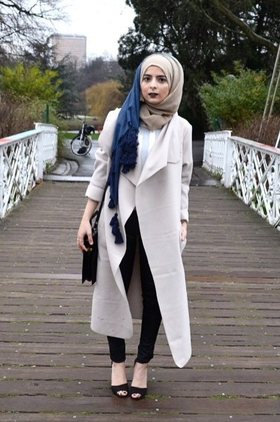Model Baju Hijab Terbaru Casual