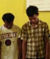 Tersangka pengedar dan pembeli narkoba di Tanjungbalai.