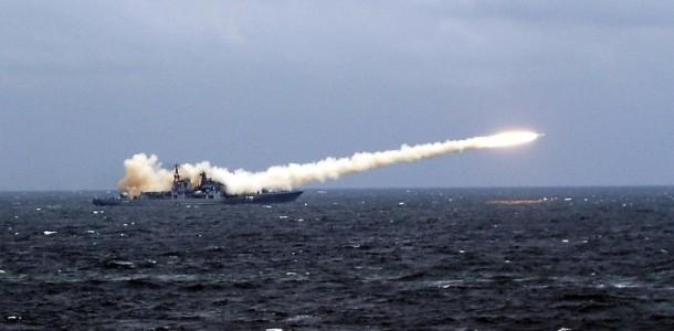 Rusia trimite o nava plina cu RACHETE in Siria