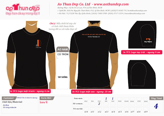 Mau Thiet Ke Ao Thun Cty AoThunDep