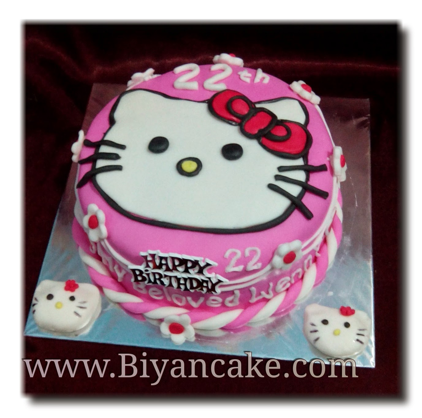 Download Gambar Kue Tart Hello Kitty Terbaru Poskartun