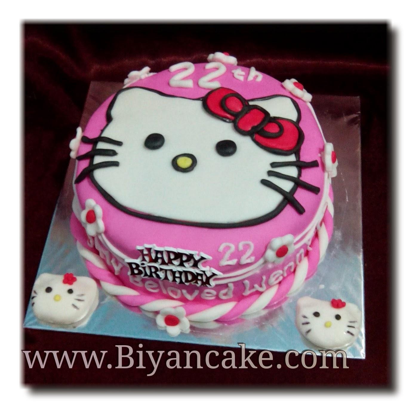 Biyancakes Toko Kue Di Bekasi Cake Hello Kitty Bagus