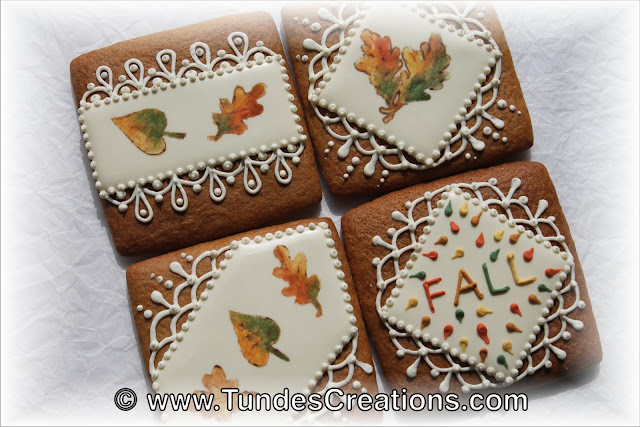 Fall cookies by Tunde Dugantsi
