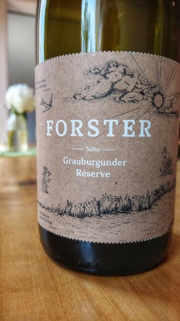 Grauburgunder vom Weingut Forster an der Nahe
