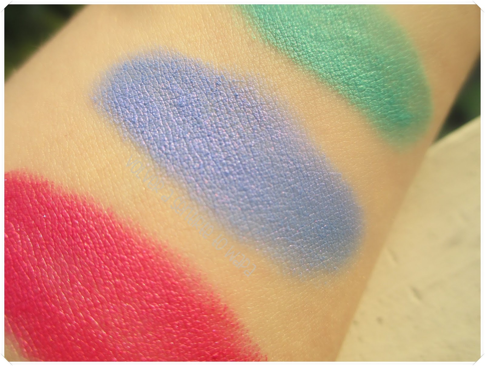 LONG LASTING de KIKO {Review & Swatches} - 31 Hypnotic Iris Blue