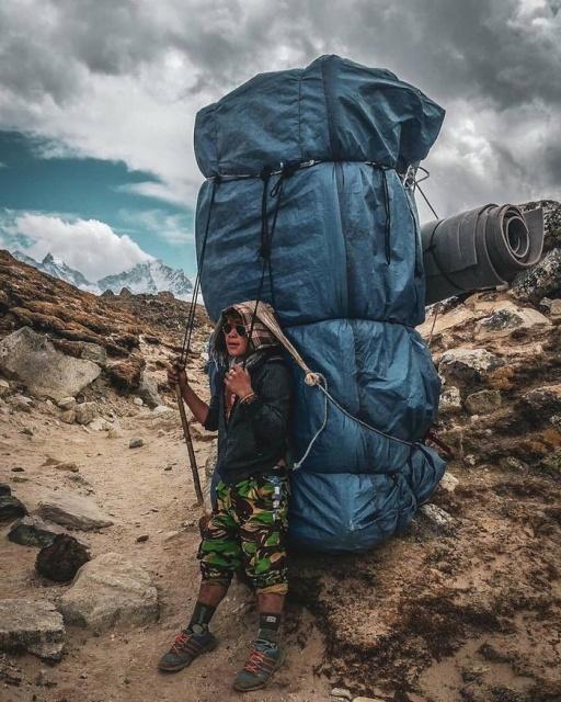 m e m o: huge backpack