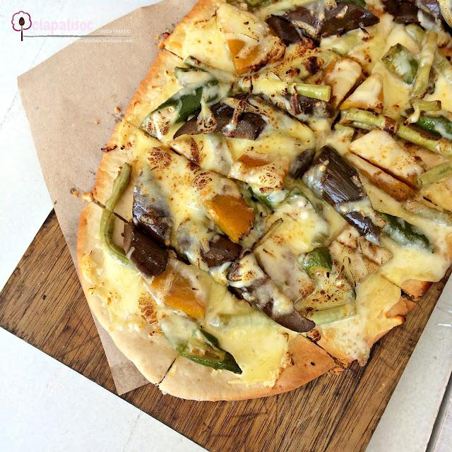 Pinakbet Pizza from Amacena Tagaytay