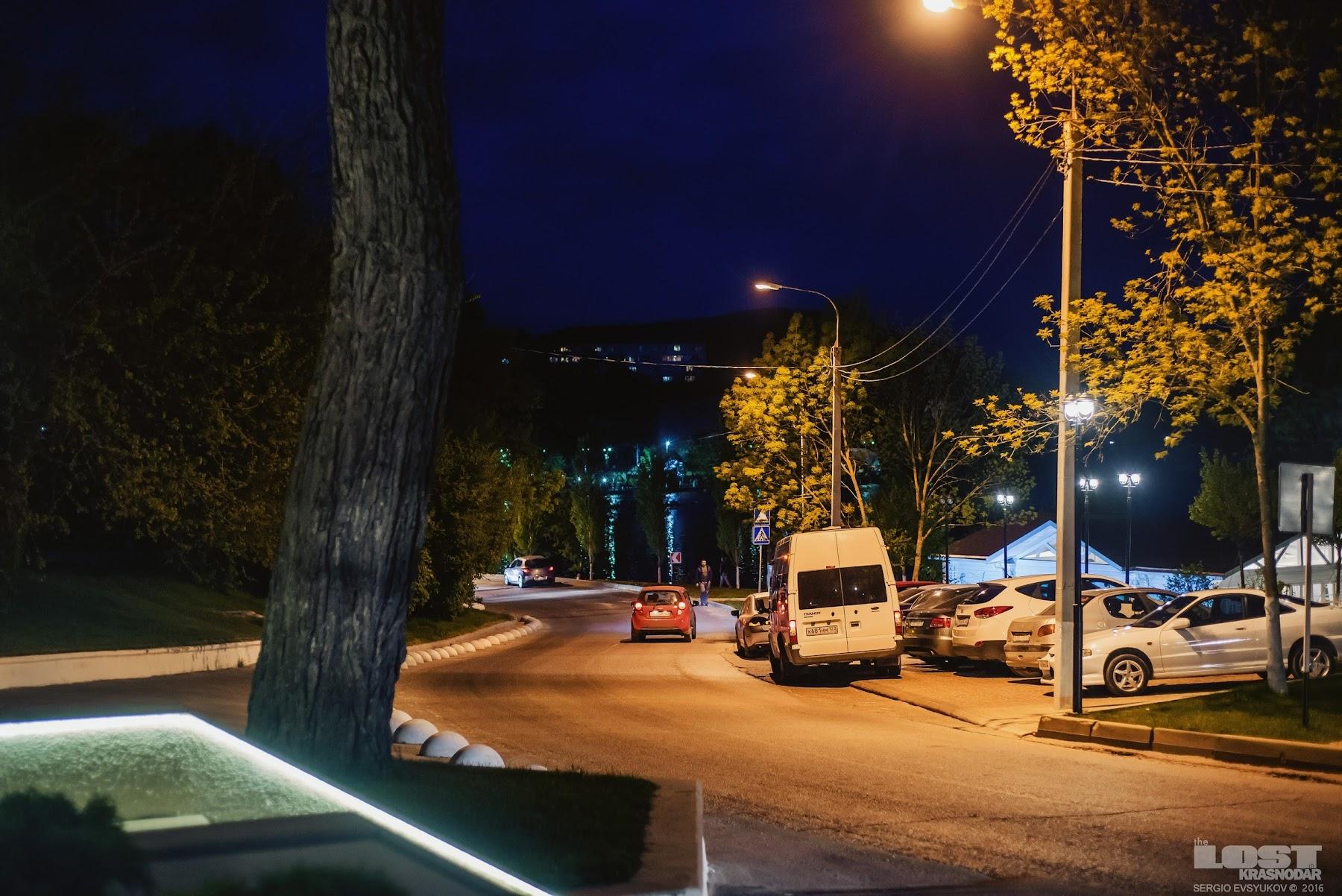 Ночной Абрау