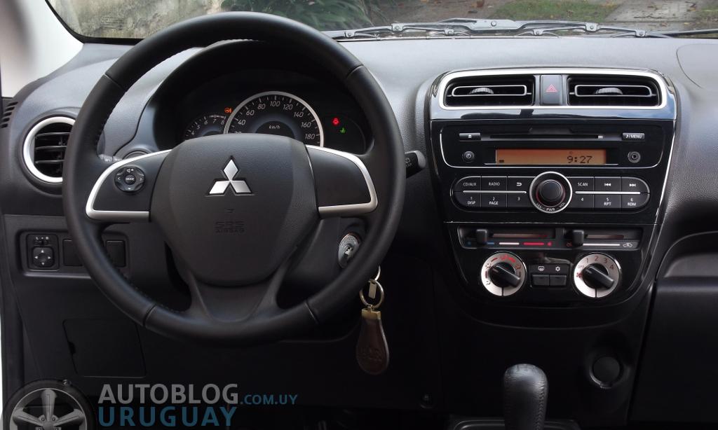 Prueba: Mitsubishi Mirage 1.2 GLS (Parte 1) : Autoblog ...