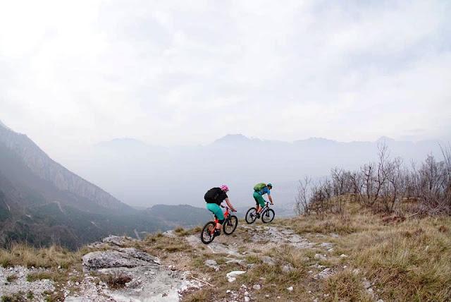 Bikebergsteigen Lago di Garda bbs, petra zeller