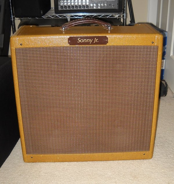 Blues Harp Amps: Mystery Amp: Modded Bassman RI in Sonny Jr Cab