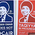 SABO STRIKES AGAIN! Street Artist Sabo Savages Ilhan Omar and Terror-Tied CAIR (5 Pics)