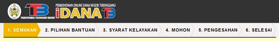Permohonan Bantuan Raya Dan Dana Bakti Remaja Terengganu