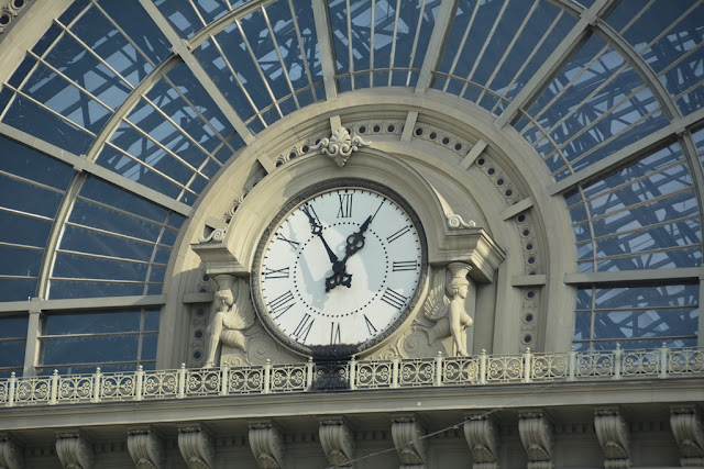 Central Station Budapest clock