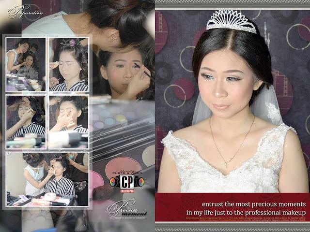 foto pernikahan kristen makeup
