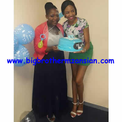BBMzansi Kay Pregnant Baby shower Photo
