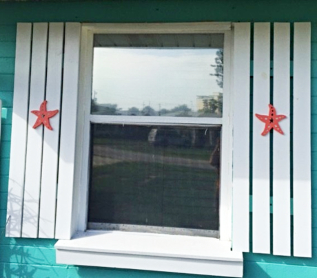Decorative Starfish Shutters