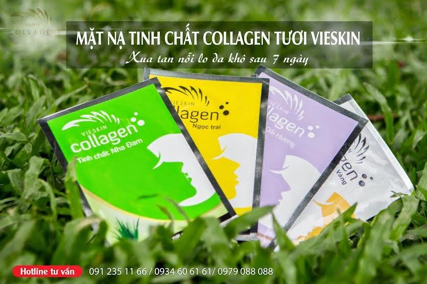 Sản phẩm mặt nạ tinh chất Vieskin Collagen