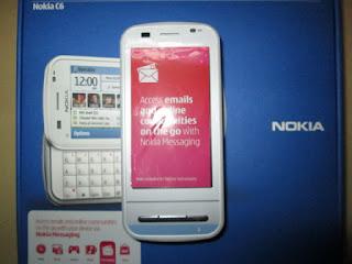 Nokia jadul C6-00
