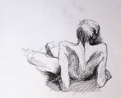 bocetos-chicas-sexis-desnudas-lapiz