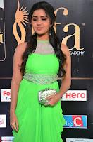 Anupama Parameshwaran cute beauty in Neon Green gown at IIFA Utsavam Awards 2017  Day 2  HD Exclusive 04.JPG