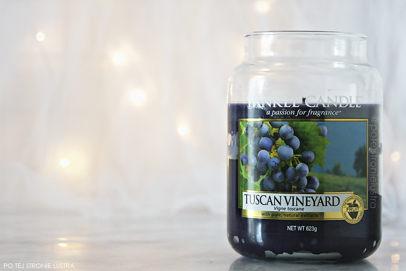 świeca yankee candle tuscan vineyard