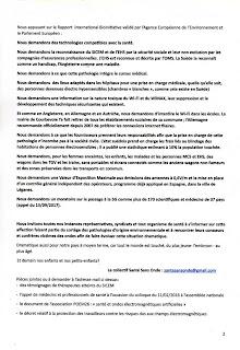 Appel du corps médical Français