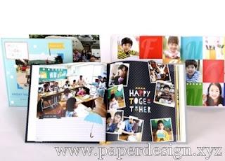 Tema foto album kenangan SMA | Contoh album kenangan sekolah