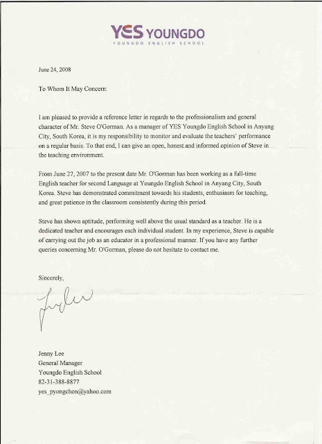 ... Professional Reference Letter Template | How To Say Resume In German