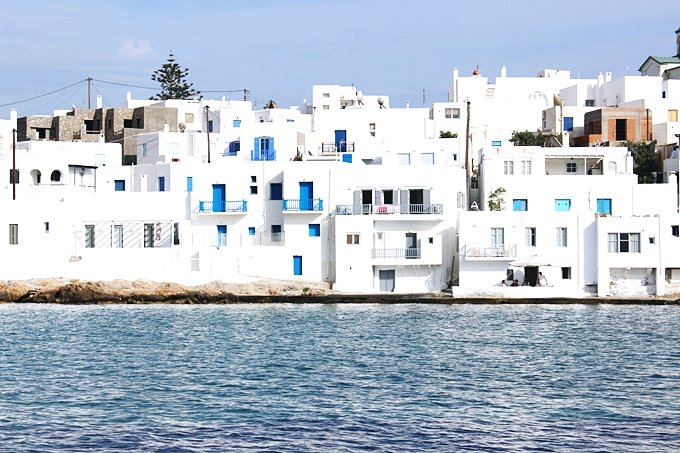 Photos of Naoussa village in Paros
