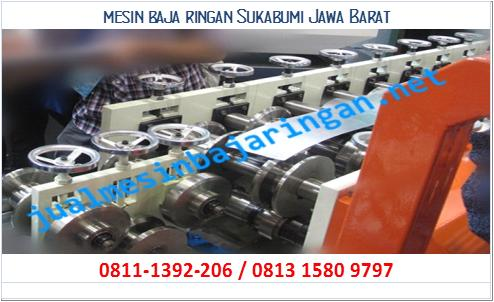 mesin baja ringan Sukabumi Jawa Barat
