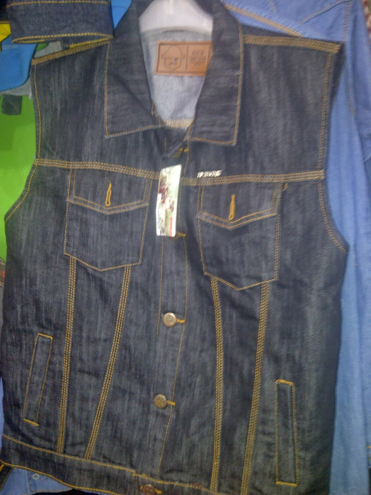 Jaket Kick Denim Jeans