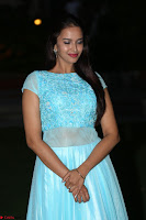 Pujita Ponnada in transparent sky blue dress at Darshakudu pre release ~  Exclusive Celebrities Galleries 123.JPG