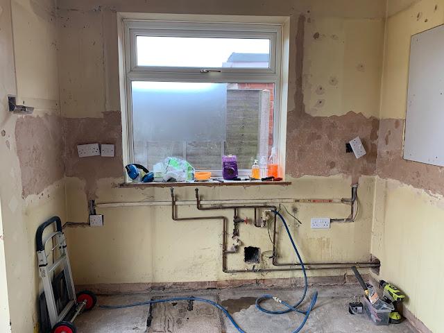 kitchen plumbing DIY