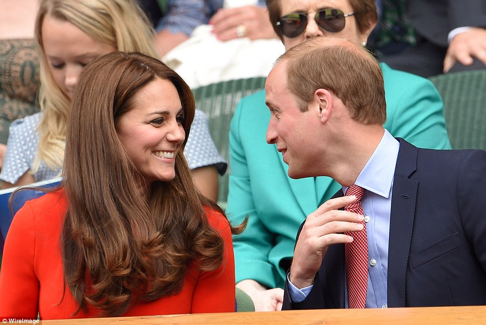 Kate Middleton is stunning in scarlet as she cheers on Andy Murray at Wimbledon