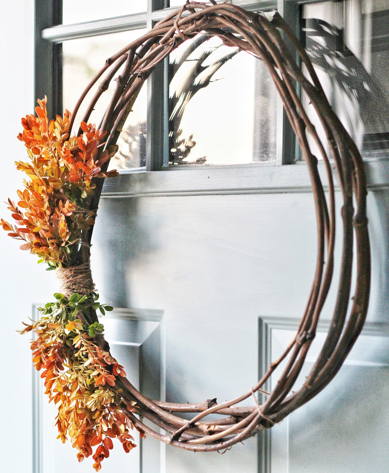 Easy Autumn Wreath