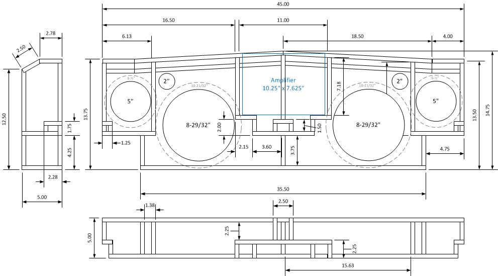 Project: C3 Update: Final Design of Speaker Enclosure