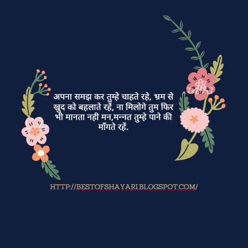 I Love You Quotes Hindi : ... love you shayari in hindi picture quotes i love you shayari in hindi