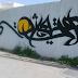 Calligraffiti : graffiti et calligraphie à Radès Tunisie signé Med One