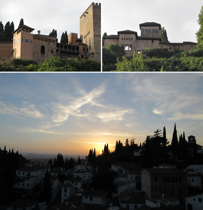 Valentina Vaguada: Valetostravels, Granada, travel, Spain, España, andalucía, La Alhambra, wanderlust, Albayzin, sunset, atardecer